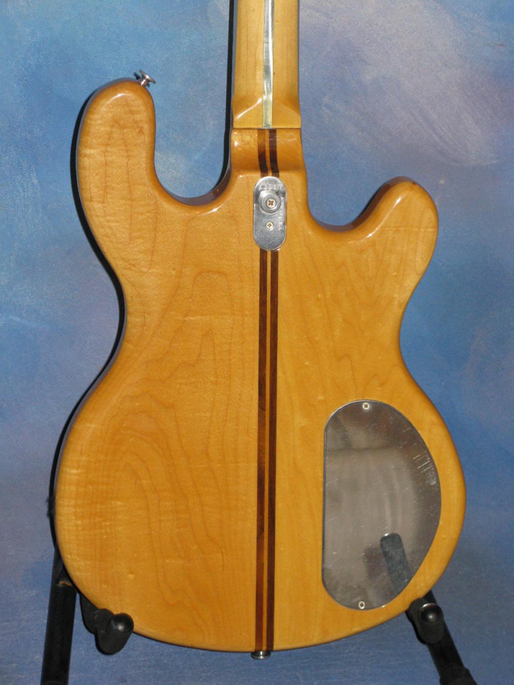 1980 kramer dmz 4001 lefty bass left handed rare ebay. Black Bedroom Furniture Sets. Home Design Ideas